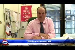 Meeting local MP Stephen Hammond (Preview)
