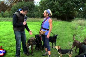 Dog Walking (1 of 2): Sally Russell on Mitcham Common