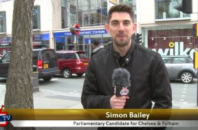 Simon Bailey's 30 second election pitch