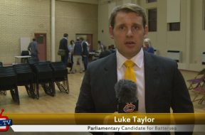 Luke Taylor's 30 second election pitch