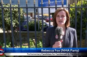 Rebecca Fox's 30 second election pitch