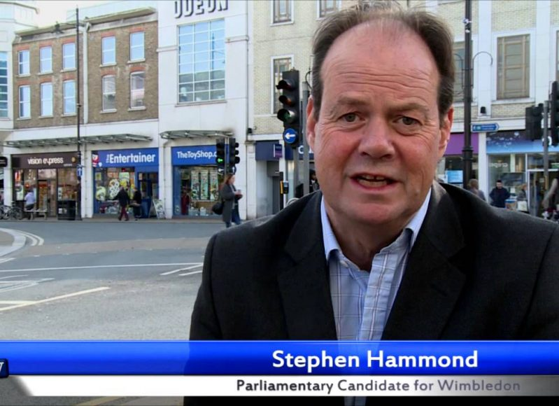 Stephen Hammond's 30 second election pitch