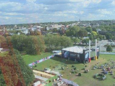 Rugby World Cup 2015 at the Richmond Fanzone