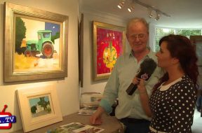 Charles Jamieson exhibits at the Stafford Gallery, Wimbledon