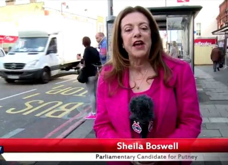 Sheila Boswell's 30 second election pitch