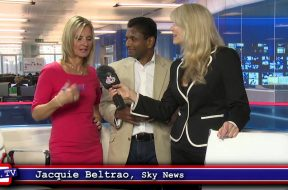 Jacquie Beltrao at Sky News