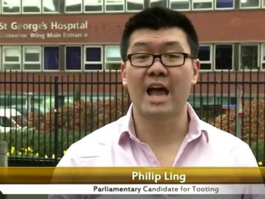 Philip Ling's 30 second election pitch
