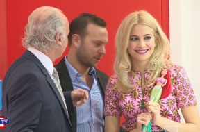 Pixie Lott and Top Trends at the Toy Fair 2015