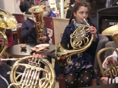 Surprise performance at Southside Shopping centre