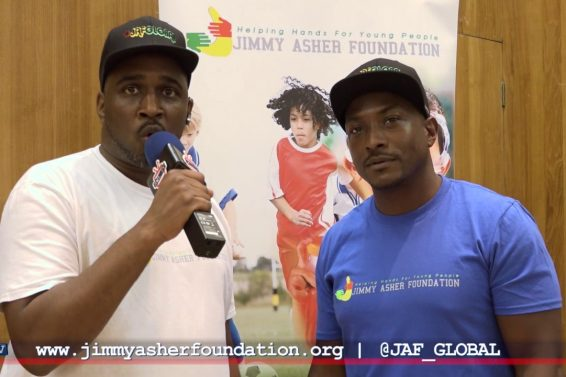 Jimmy Asher Foundation at the Storm Peace Concert 2017