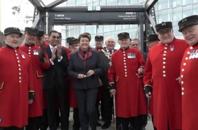 New Pier Opens at Battersea Power Station