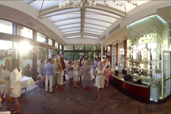 Lady Wimbledon's VIP Party, Cannizaro House (360 degree video)