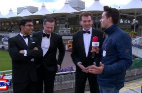 The Rat Pack Plays Live at Sandown Racecourse