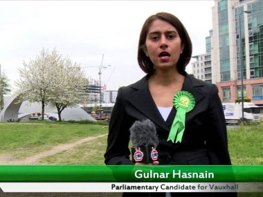 Gulnar Hasnain's 30 second election pitch