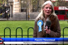 Naomi Newstead's 30 second election pitch