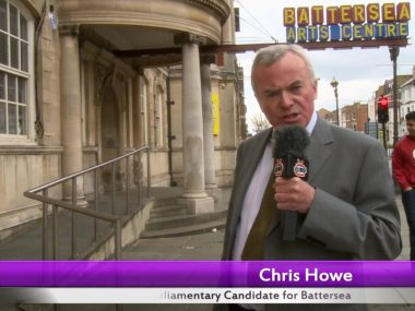 Chris Howe's 30 second election pitch