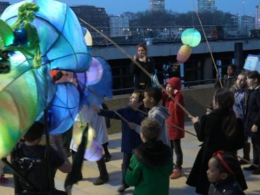Nine Elms youngsters bring monsters to life