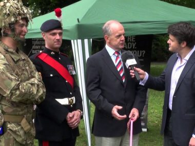 Armed Forces Day at Battersea Park
