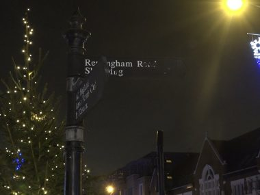 Christmas Lights in Southfields