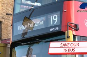 Save our 19 Bus